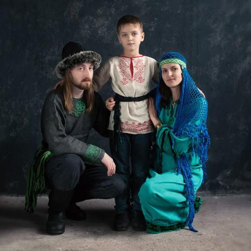 Семейство Волка. Санкт-Петербург, 2014