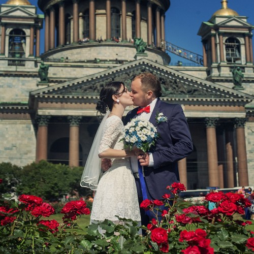 Cвадьба Петра и Анастасии. Санкт-Петербург, 2015