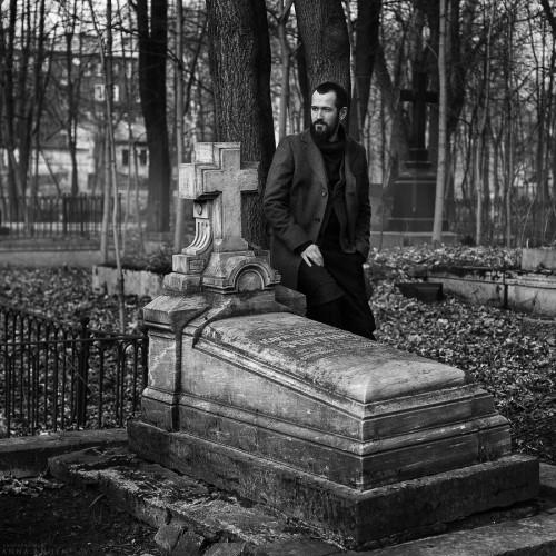 Портрет мастера-оружейника Ильи Ширмана. Санкт-Петербург, 2014
