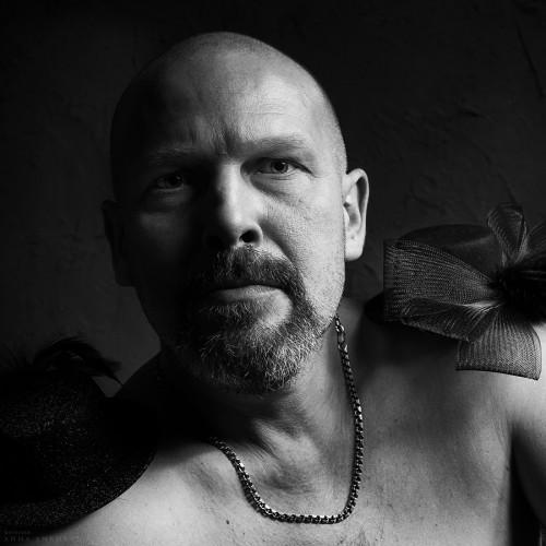 Портрет фотографа Андрея Папенина. Санкт- Петербург, 2011