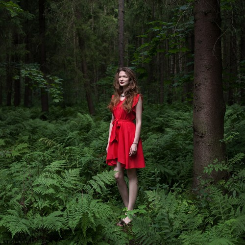 Красное платье. Санкт-Петербург, 2015