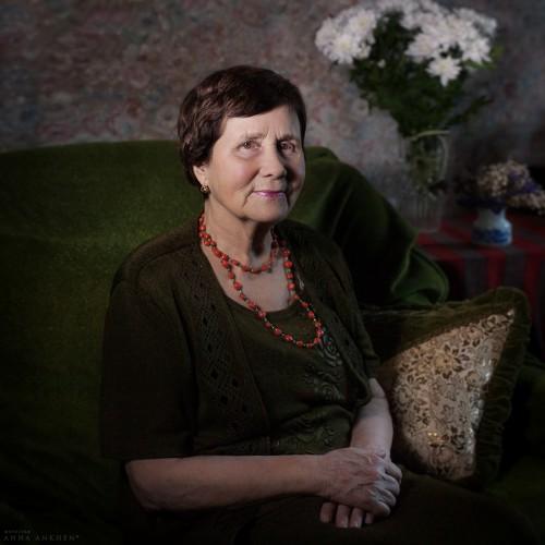 Портрет моей бабушки. Калининград, 2017