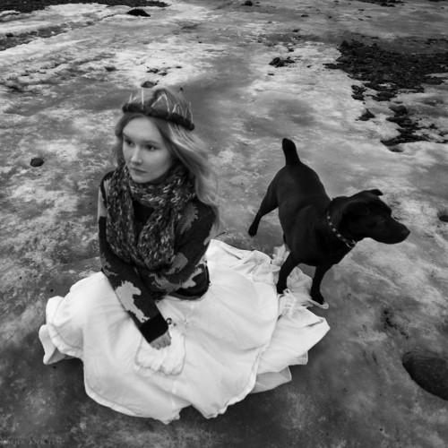 Странная история о Феодоре - Чёрная собака. Зеленоградск, 2017