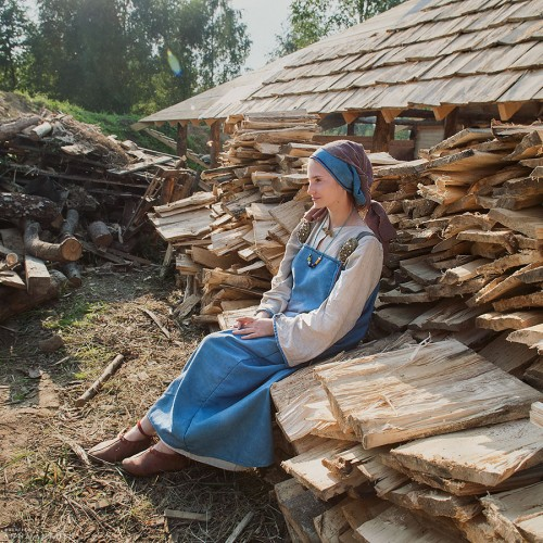 Добрая жена викинга. Калининград, 2016